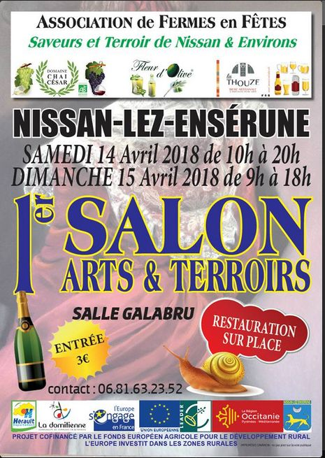 RDV au Salon Art et Terroir à Nissan (34)